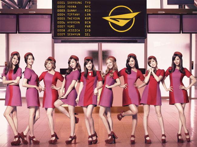 Girls' Generation, Girls & Peace Concept