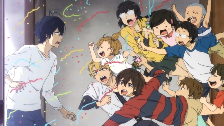 Seishuu and the kids, Barakamon