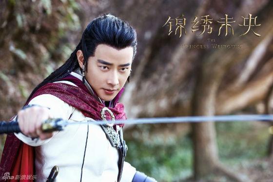 Luo Jin as Tuoba Jun, The Empress Weiyoung